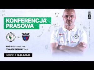 Read more about the article Konferencja prasowa po meczu Legia Warszawa – Twarde Pierniki Toruń   Legia Warszawa Koszykówka