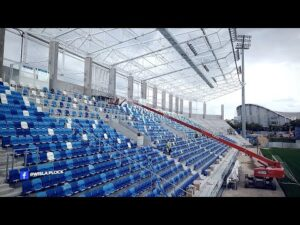 Read more about the article Budowa stadionu | 14.09.2021