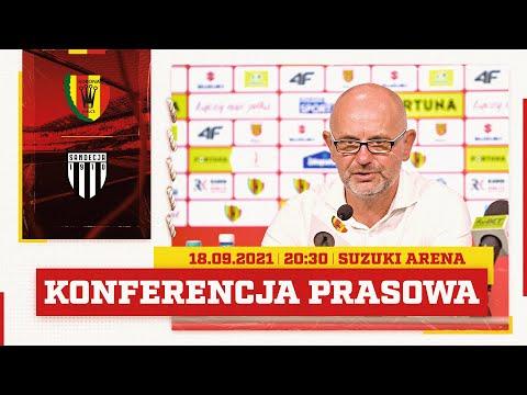 Read more about the article Konferencja prasowa po meczu Korona Kielce – Sandecja Nowy Sącz