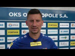 "Read more about the article Wypowiedzi Arkadiusza Piecha i Mateusza Kuchty ""na gorąco"" po meczu ze Stomilem."