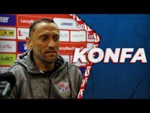 Read more about the article Trener Piotr Jawny po meczu Fortuna Pucharu Polski