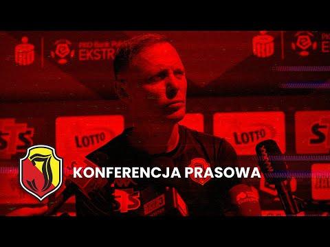 Read more about the article [LIVE] Konferencja prasowa przed meczem z Lechem Poznań.