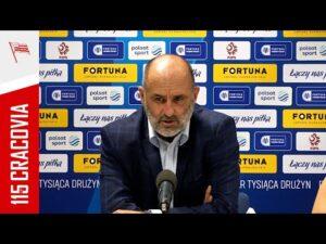 Read more about the article Trener Michał Probierz po meczu z ŁKS Łódź 1/32 FORTUNA Pucharu Polski (23.09.2021)