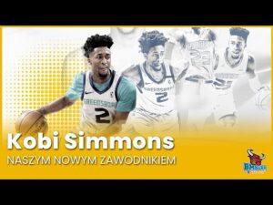 Read more about the article Kobi Simmons naszym nowym zawodnikiem