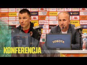 Read more about the article [GKS TV] Konferencja prasowa po meczu w Głogowie