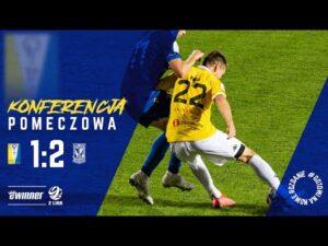 Read more about the article KONFERENCJA: Olimpia Elbląg 1:2 Lech II Poznań | 10. kolejka | Sezon 2021/22