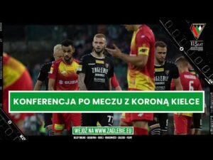 Read more about the article Konferencja po meczu z Koroną. Zagłębie buduje nowe DNA   #FORTUNA1LIGA