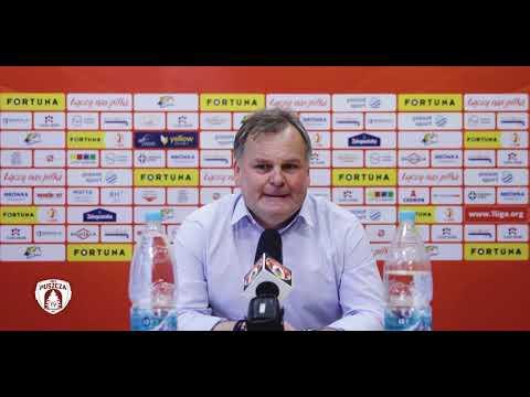 You are currently viewing Tomasz Tułacz ocenia mecz z Widzewem | PUSZCZA TV
