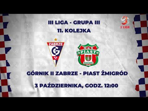You are currently viewing III LIGA: GÓRNIK II ZABRZE – PIAST ŻMIGRÓD