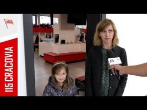 Read more about the article Cracovia wspiera grę fair play! Wywiad z Panią Joanną i jej córką (01.10.2021)