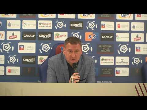 You are currently viewing Kamil Kiereś po meczu Pogoń – Górnik (4:1, 03.10.2021)