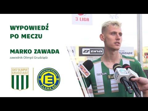 You are currently viewing Marko Zawada po meczu z Elaną Toruń.
