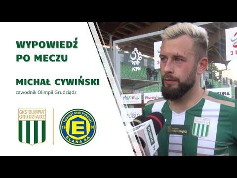 You are currently viewing Michał Cywiński po meczu z Elaną Toruń.