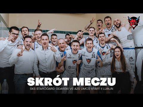 You are currently viewing SKRÓT MECZU | SKS STAROGARD GDAŃSKI VS AZS UMCS START LUBLIN