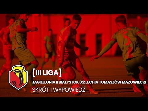 You are currently viewing [III liga] Jagiellonia II Białystok 0:2 Lechia Tomaszów Mazowiecki. Skrót.