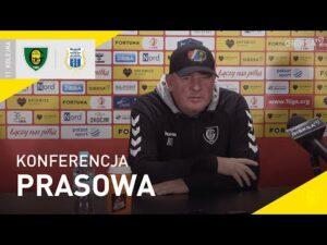 Read more about the article Konferencja prasowa po meczu GKS Katowice – Stomil Olsztyn 2:1 (03.10.2021)