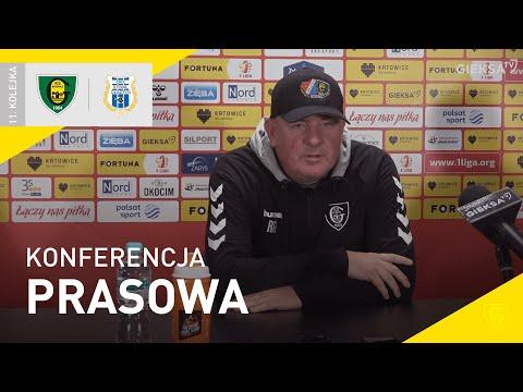 You are currently viewing Konferencja prasowa po meczu GKS Katowice – Stomil Olsztyn 2:1 (03.10.2021)