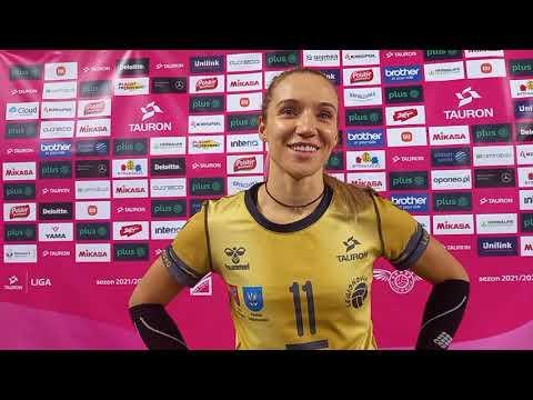 You are currently viewing Izabela Lemańczyk po meczu z Polskimi Przetworami Pałacem Bydgoszcz