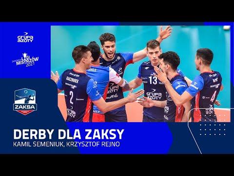 You are currently viewing DERBY DLA ZAKSY | Krzysztof Rejno, Kamil Semeniuk
