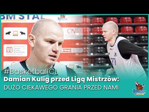 You are currently viewing #BasketballCL Damian Kulig przed Ligą Mistrzów: Dużo ciekawego grania przed nami.