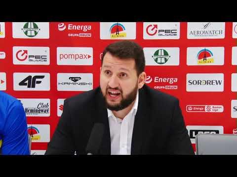 You are currently viewing Konferencja prasowa po meczu GTK Gliwice – Asseco Arka Gdynia