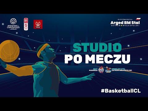 You are currently viewing #BasketballCL Studio na żywo po meczu Baxi Manresa – Arged BM Stal Ostrów Wielkopolski
