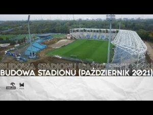 Read more about the article Budowa stadionu (październik 2021)