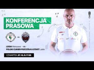 Read more about the article Konferencja prasowa po meczu Legia Warszawa – Start Lublin | Legia Warszawa Koszykówka