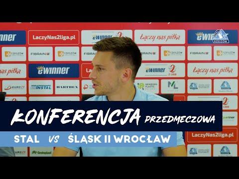 You are currently viewing Konferencja przedmeczowa Stal Rzeszów – Śląsk II Wrocław