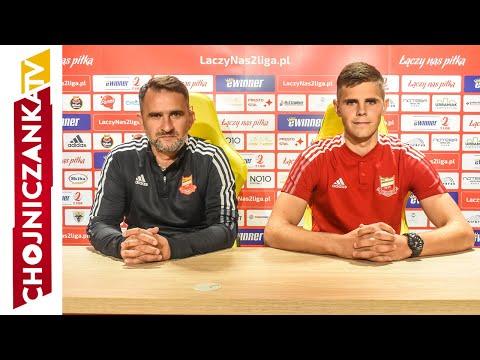 You are currently viewing Tomasz Kafarski i Kacper Kasperowicz przed meczem z GKS-em Bełchatów
