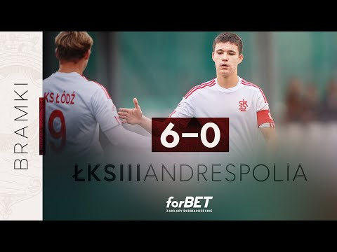 You are currently viewing OPP: ŁKS Łódź – Andrespolia Wiśniowa Góra 6:0 | BRAMKI