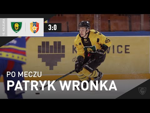 You are currently viewing Patryk Wronka po meczu GKS Katowice – Tauron Podhale Nowy Targ 3:0 (08.10.2021)