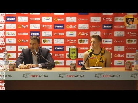 You are currently viewing Konferencja po meczu Trefl Sopot – Enea Zastal BC Zielona Góra | Trefl Sopot