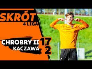Read more about the article 4 LIGA: Chrobry II Głogów – Kaczawa Bieniowice 17:2
