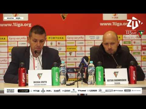 You are currently viewing Konferencja prasowa po meczu z Resovią Rzeszów | #FORTUNA1LIGA