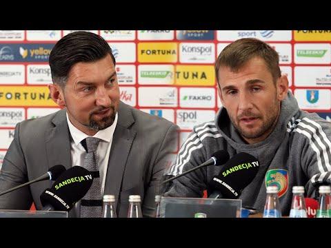 You are currently viewing 2021-10-10 Sandecja – Miedź Legnica 1-3 (0-1), pomeczowa konferencja