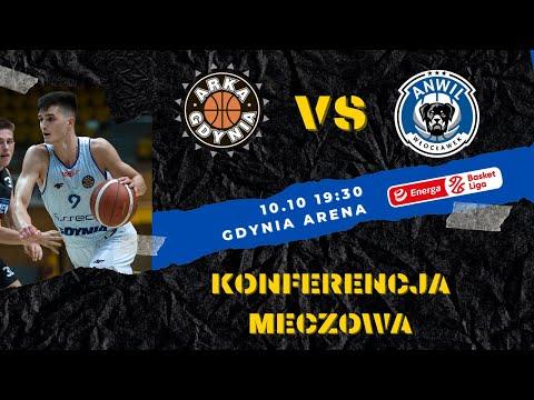You are currently viewing Konferencja prasowa: Asseco Arka Gdynia vs Anwil Włocławek