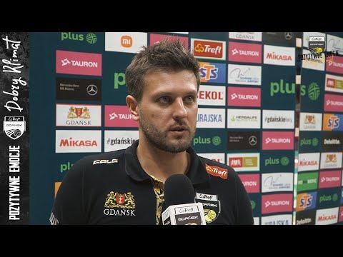 You are currently viewing Trener Michał Winiarski po domowej inauguracji sezonu z Aluronem CMC Wartą Zawiercie   Trefl Gdańsk