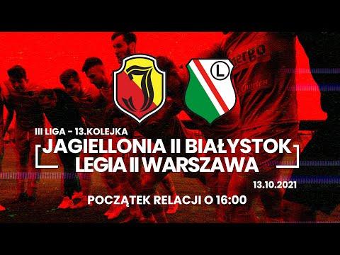 You are currently viewing [LIVE] III liga. Jagiellonia II Białystok – Legia II Warszawa