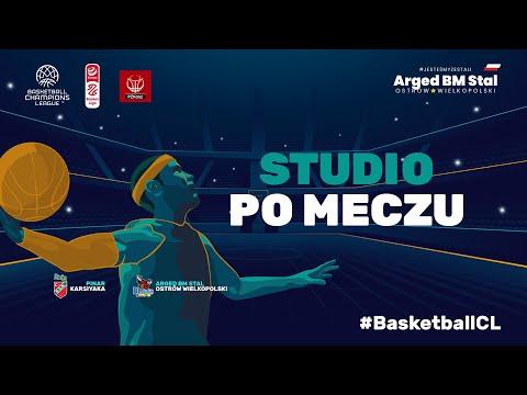 You are currently viewing #BasketballCL Studio na żywo po meczu Pinar Karsiyaka – Arged BM Stal Ostrów Wielkopolski