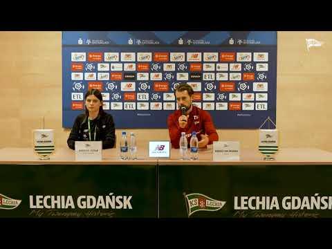 You are currently viewing Konferencja prasowa przed meczem Bruk-Bet Termalica Nieciecza – Lechia Gdańsk #BBTLGD