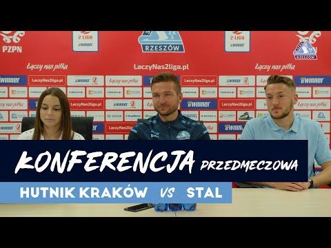 You are currently viewing Konferencja przedmeczowa Hutnik Kraków – Stal Rzeszów