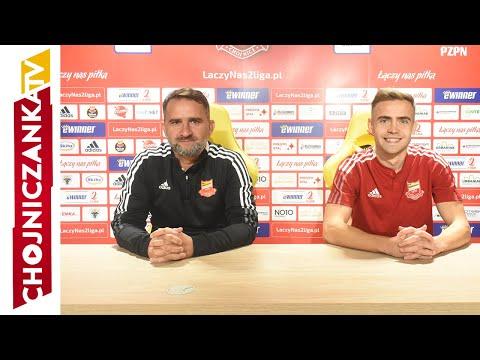 You are currently viewing Tomasz Kafarski i Kamil Mazek przed meczem z Lechem II Poznań