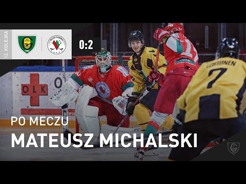 You are currently viewing Mateusz Michalski po meczu GKS Katowice – Zagłębie Sosnowiec 0:2 (14.10.2021)
