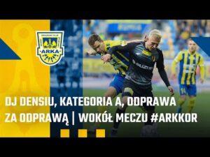 Read more about the article ŻÓŁTO-NIEBIESKI VLOG #3. DJ DENSIU, KATEGORIA A, ODPRAWA ZA ODPRAWĄ   WOKÓŁ MECZU #ARKKOR