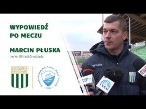 Read more about the article Wypowiedź trenera Marcina Płuski po meczu z Bałtykiem Koszalin.