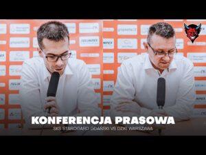 Read more about the article KONFERENCJA PRASOWA   SKS STAROGARD GDAŃSKI VS DZIKI WARSZAWA