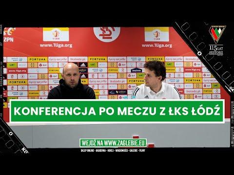 You are currently viewing Konferencja prasowa po zwycięskim meczu z ŁKS-em