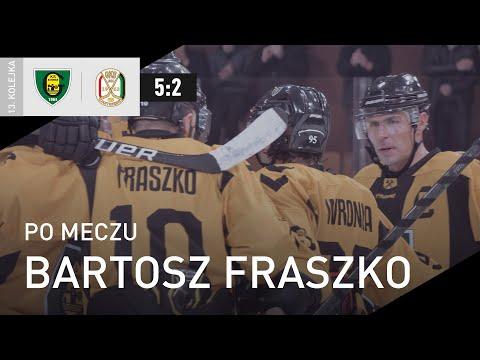 Read more about the article Bartosz Fraszko po meczu GKS Katowice – JKH GKS Jastrzębie 5:2 (17.10.2021)