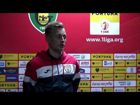 Read more about the article Krzysztof Napora po meczu z GKS Katowice | 16.10.2021